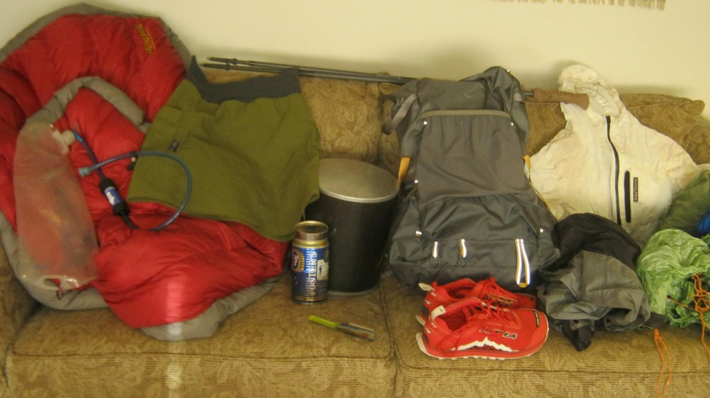 Gear for a September High Sierra Trip
