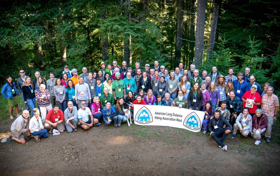 September: A wonderful opportunity to speak to my peers at the American Long Distance Hiking Association-West Annual Gathering at Stampede Pass, WA