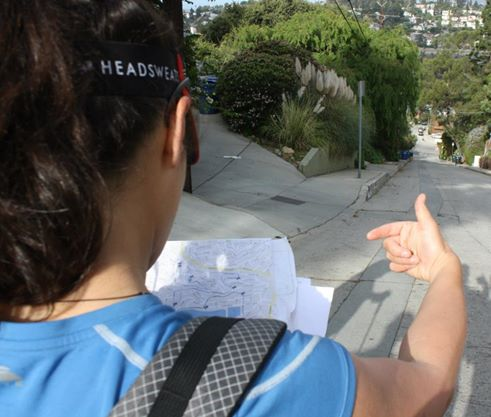 My navigation tips in Backpacker