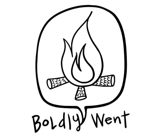 The Boldly Went Podcast Logo